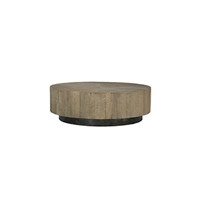 Colton Charcoal Oak and Black  Coffee Table