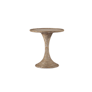 Gloria Antique Gold and Silverleafed Table