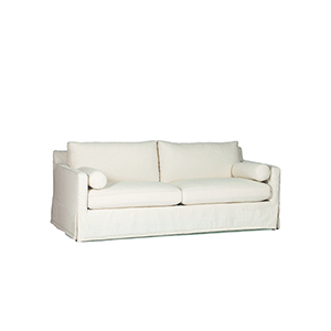 Hayes Cream Slipcovered Sofa