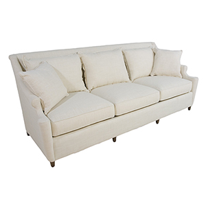 Theo Walnut 7-Foot Sofa