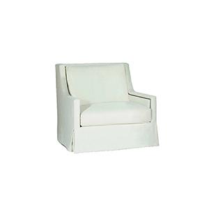 Helena Cream High Back Swivel Chair