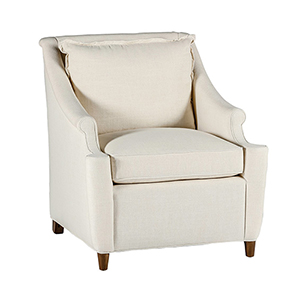 Theo Cream Welted Chair