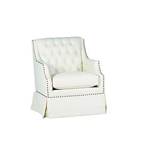 Graham Cream Stationary Chair