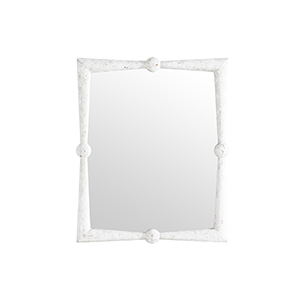 Scarlett Antique White 40-Inch Mirror