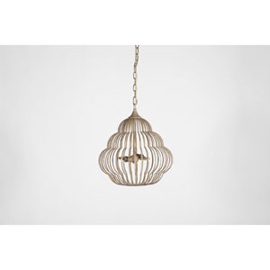 Nathaniel Antique Gold 11-Inch One-Light Pendant
