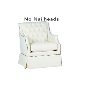 Graham Zulu Vanilla 28-Inch  Swivel Chair