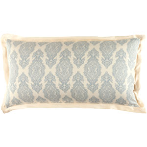 Alia Dark Blue, Khaki King Sham