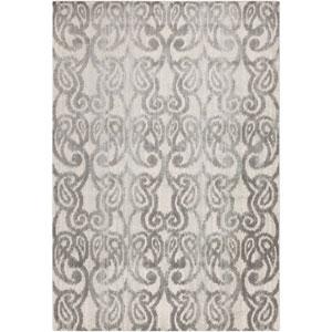 Aberdine Light Gray and Charcoal Rectangular: 2 Ft 2 In x 3 Ft Rug