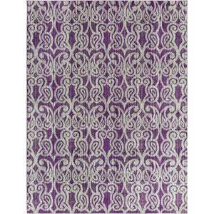 Aberdine Purple Rectangle: 7 Ft. 6 In. x 10 Ft. 6 In. Rug