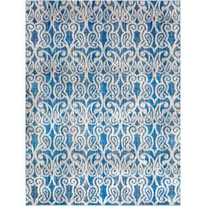 Aberdine Blue Rectangle: 7 Ft. 6 In. x 10 Ft. 6 In. Rug