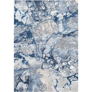 Aberdine Blue Rectangle: 5 Ft. 2 In. x 7 Ft. 6 In. Rug