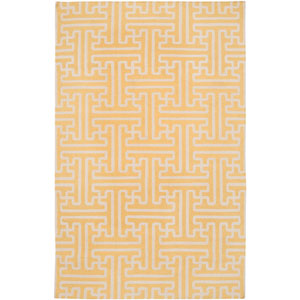 Archive Yellow Rectangular: 5 ft. x 8 ft. Rug