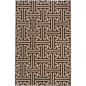 Archive Brown Rectangular: 5 ft. x 8 ft. Rug