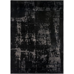 Amadeo Black and Neutral Rectangular: 2 Ft.x 3 Ft. 7-Inch Rug