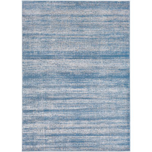 Amadeo Blue and Gray Rectangular: 2 Ft.x 3 Ft. 7-Inch Rug