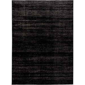 Amadeo Black and Gray Rectangular: 2 Ft.x 3 Ft. 7-Inch Rug