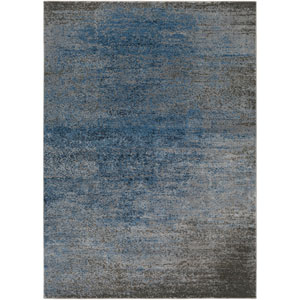 Amadeo Blue Rectangular:  7 Ft. 10-Inch x 10 Ft. 2-Inch