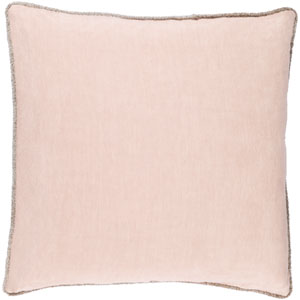 Sasha Pink 20-Inch Pillow Cover