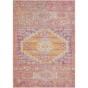 Antioch Pink Rectangle: 2 Ft. x 3 Ft. Rug