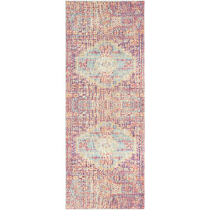 Antioch Red Runner: 3 Ft. x 7 Ft. 10 In. Rug