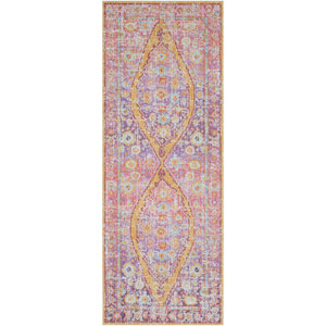 Antioch Pink Runner: 3 Ft. x 7 Ft. 10 In. Rug