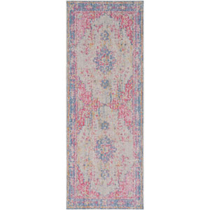 Antioch Purple Runner: 3 Ft. x 7 Ft. 10 In. Rug