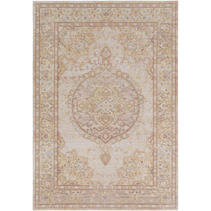 Antioch Yellow Rectangle: 5 Ft. 3 In. x 7 Ft. 3 In. Rug