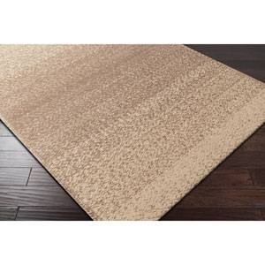 Aileen Dark Brown and Wheat Rectangular: 5 Ft. x 7 Ft. 6 In. Rug