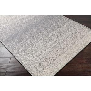Aileen Medium Gray and Cream Rectangular: 8 Ft. x 10 Ft. Rug
