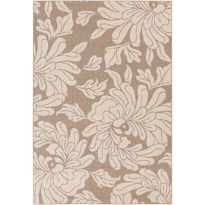 Alfresco Beige and Taupe Rectangular: 2 Ft 3 In x 4 Ft 6 In Rug
