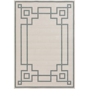 Alfresco Beige and Moss Rectangular: 2 Ft 3 In x 4 Ft 6 In Rug