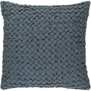 Ashlar Moss 22-Inch Pillow with Poly Fill