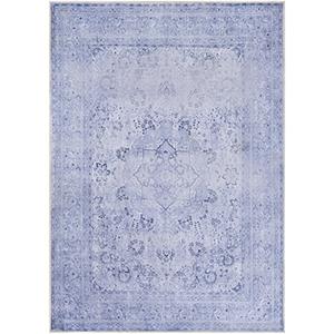 Amelie Lavender and Denim Rectangular: 2 Ft. x 3 Ft. Rug