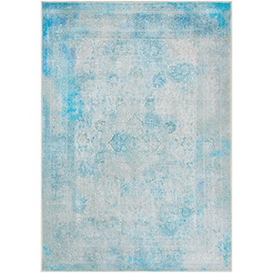 Amelie Teal Rectangular: 7 Ft. 10 In. x 10 Ft. 3 In. Rug