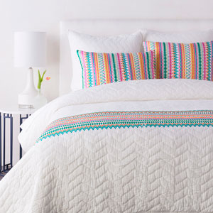 Annabelle Multicolor King Sham