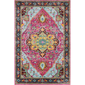 Anika Pink Rectangle: 2 Ft. x 3 Ft. Rug