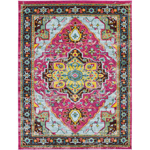 Anika Pink Rectangle: 7 Ft. 10 In. x 10 Ft. 3 In. Rug