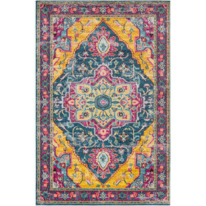 Anika Blue Rectangle: 2 Ft. x 3 Ft. Rug