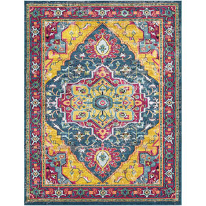 Anika Blue Rectangle: 7 Ft. 10 In. x 10 Ft. 3 In. Rug