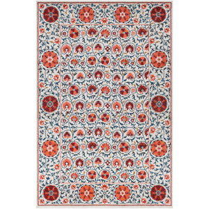 Anika Pink Rectangle: 5 Ft. 3 In. x 7 Ft. 3 In. Rug