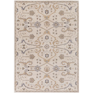 Andromeda Neutral and Brown Rectangular: 2 Ft. x 2 Ft. 9-Inch Rug