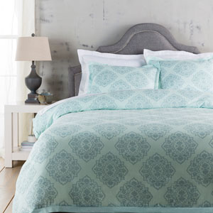 Anniston Blue Full/Queen Duvet