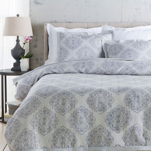 Anniston Gray Full/Queen Duvet