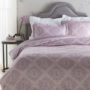 Anniston Purple Full/Queen Duvet