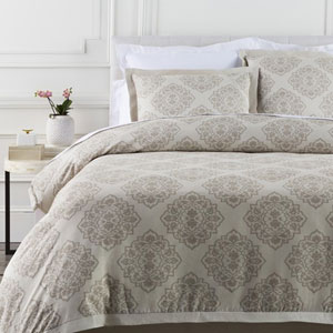 Anniston Natural Twin Duvet