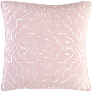 Adagio Pink and Neutral 20-Inch Pillow Cover