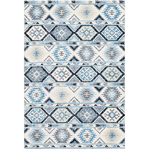 Apricity Blue Rectangular: 5 Ft. 3 In. x 7 Ft. 6 In. Rug