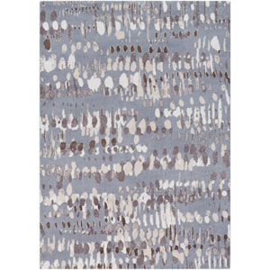 Apricity Taupe and Gray Rectangular: 2 Ft. x 3 Ft. Rug