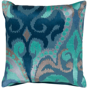 Ara Blue 20-Inch Pillow Cover