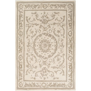 Armelle Taupe and Cream Rectangular: 5 Ft. x 7 Ft. 6 In. Rug